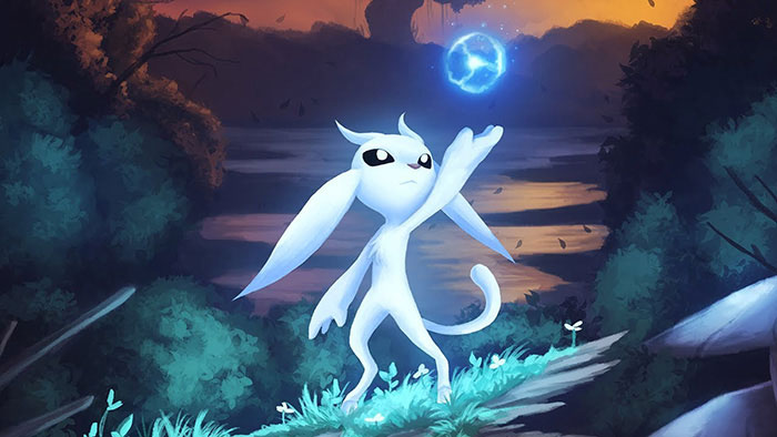 personagem Ori - Ori and the Blind Forest