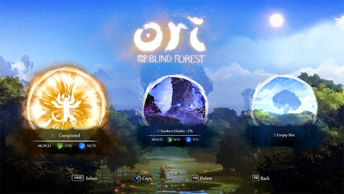 Mapa • Ori and the Blind Forest