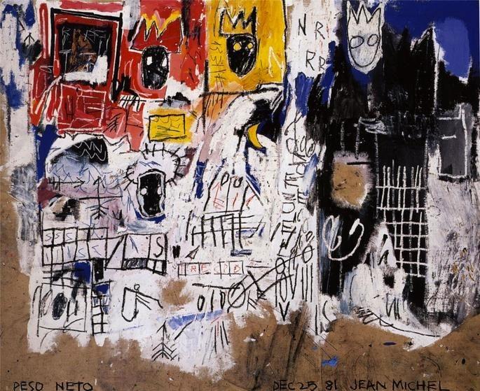 obras de Basquiat - Coroas