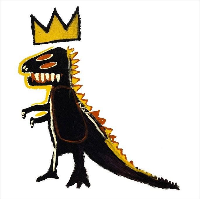 obras Basquiat - dispensador de pez